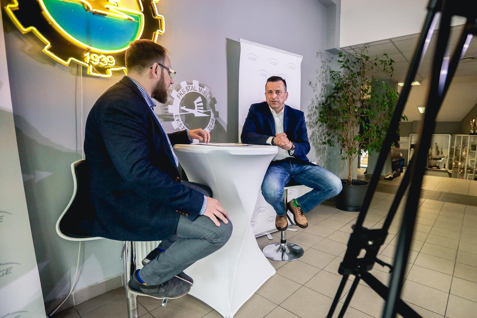 O finansach i transferach piłkarskiej Stali Mielec z prezesem Jackiem Klimkiem